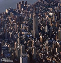 NYC. Midtown and East Village  aerial view //  by Matt Robinson