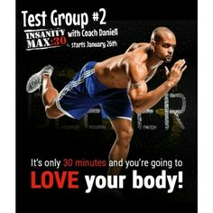 SORRY I SAID NO TO YOU RECENTLY!  Oh Yes I Am! But I'm So excited to announce that since I've had such HUGE response to my new Insanity MAX:30 Test Group which started Monday, FYI I see results in myself already! I have decided to open up another test group this month to 4 more people! That's It! My FOCUS is on You!  Beginning - JANUARY 26TH!   So are you ready to: ※Drop that weight ※cut the excuses for 30 minutes a day for the next 60 days ※be pushed out of your cozy little comfort zone…
