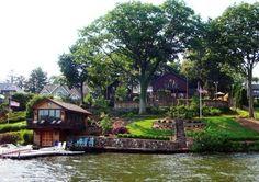 Amazing Tudor style home on the lake