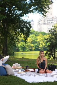 A Fashion Love Affair - Posts - Picnic in Central Park.