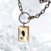 Creepy Fly- Vintaj Antiqued Brass - Necklace