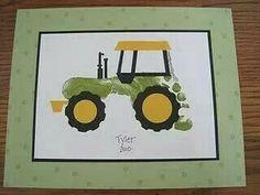 """Footprint tractor """"Jon Deere"""""""