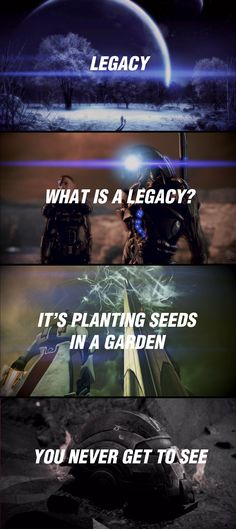 This is true for not just Shepard but soliders as a whole game and real life