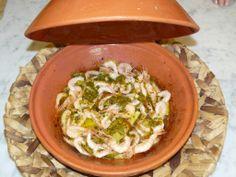 dal marocco la ricetta del tajine con gamberi e verdure