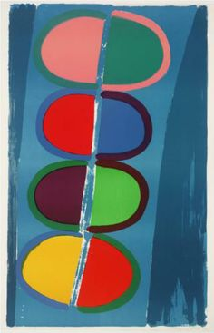 Artwork page for 'Moonship', Sir Terry Frost, 1972 Sonia Delaunay, Umea, Artist Painting, Artist Art, Abstract Expressionism, Abstract Art, Abstract Paintings, Original Paintings, Nadir Afonso