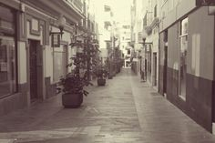 Calle peatonal, Gran Canaria