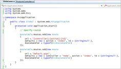 ASP.NET MVC Framework (Part 2): URL Routing