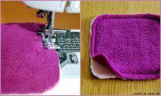 Lingettes lavables - Tuto - L'atelier de Petite fée