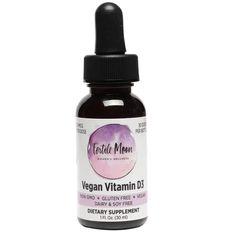 Liquid Vitamin D3 Vegan 50 mcg (2000 IU) Per Dose by Fertile Moon® - P