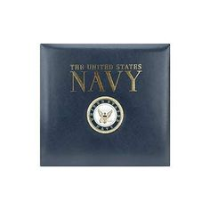 Find one for Canadians!!  Amazon.com: K&Company Leather Navy 12-by-12-Inch Scrapbook, Navy Blue: Arts, Crafts & Sewing