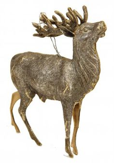 DRESDNER PAPPE Christmas Tree Decoration, Stag,