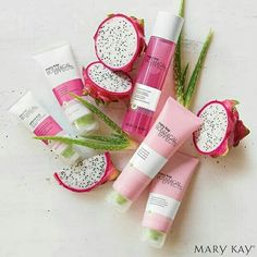 Introducing the new botanical effects skincare full of dragon fruit and aloe To order pm me Asap or shop online at www.marykay.ch/Beautifulskin