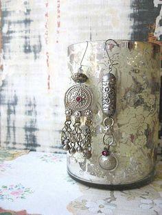 Talisman Tribal Gypsy earrings by AllThingsPretty, via Flickr