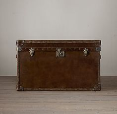 Mayfair Steamer Trunks Occasional Table Collection   RH