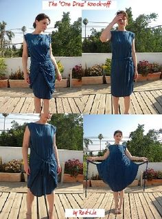 """The """"One Dress"""" (Convertible dress) by Red-lia 
