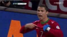 Cristiano Ronaldo's Insane Hat Trick Carries Portugal To The World Cup, Mmmm... 2014
