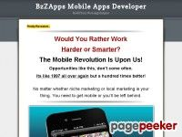 The core of the system is the BzZApps App Builder. A powerful mobile application builder, that allows you to quickly and efficiently, assemble high quality, custom applications.  No matter if you're using a Windows PC… Read more…