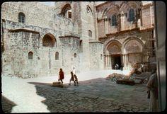 La Iglesia del Santo Sepulcro está casi tal y como estaba en la época en la que Marco Polo estuvo en Jerusalem.
