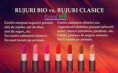 Rujuri bio vs rujuri clasice Lipstick, Beauty, Lipsticks, Cosmetology, Rouge