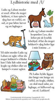 Lydhistorie med /l/ |