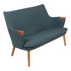 Hans J. Wegner; #AP315 'Mini Bear' Sofa for A.P. Stolen,1954.