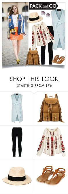 """Pack&Go:Mexico City"" by xo-panda-xo ❤ liked on Polyvore featuring River Island, Yves Saint Laurent, STELLA McCARTNEY, Calypso St. Barth, Eugenia Kim, Monki and Packandgo"