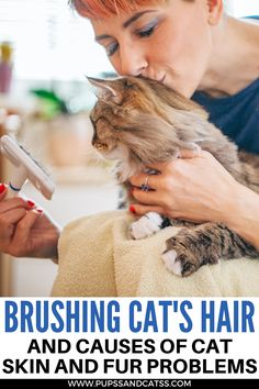 The cats are clean enough and can independently maintain their fur coat in order, but the owner will still have to help them with this. In particular, it is important to comb out the cat promptly and remove dead hairs so that the mustachioed friend does not swallow hair when licking. How and with what to comb the cat so that it looks not only great but also feels good? Fluffy Cat Breeds, Large Cat Breeds, All Cat Breeds, Cute Cat Breeds, Beautiful Cat Breeds, Cat Care Tips, Pet Care, Cat Health, Health Tips