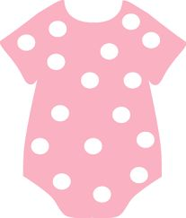 Image result for pink baby onesie