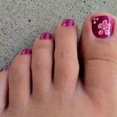 Summer design nail art