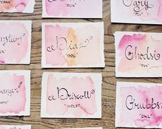 8 Ways to Use Watercolor With Your Wedding Design | Wedding Blog, Wedding Planning Blog | Perfect Wedding Guide