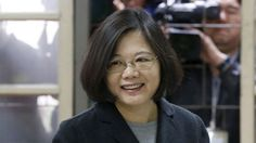 Pro-independence opposition candidate Tsai Ing-wen is elected Taiwan's first female president, setting an uncertain course for future relations with China.