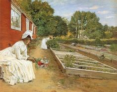 The Green House ~ William Merrit Chase
