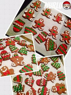 royal icingli kurabiye tarifi,royal icing tarifi,zencefilli kurabiye tarifi,yılbaşı kurabiyeleri,yeniyıl kurabiyeleri,kurabiye,süslü yılbaşı kurabiyeleri,kolay royal icing tarifi,roayal icing Royal Icing Cookies Recipe, Easy Royal Icing Recipe, Ginger Bread Cookies Recipe, Ginger Cookies, Cookie Recipes, Recipe Ginger, Gingerbread Cookies, Christmas Cookies, Shortbread Cookies