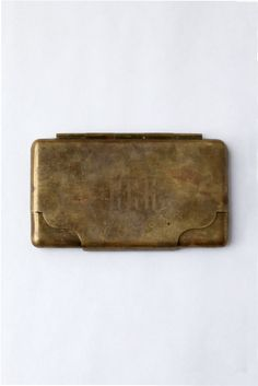 Monogrammed Metal Case