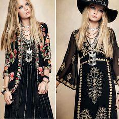 Moda Folk Invierno 2016 por Rapsodia Indumentaria