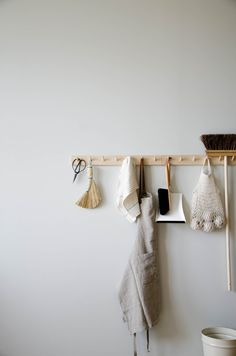Birch Peg Rail: Perfect for displaying your favorite pieces and keeping your floors clutter-free.