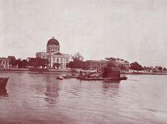 RECIFE (PE) - Câmara dos deputados e Ginásio Pernambucano (Meados de 1910) Iba Mendes: Fotos antigas da cidade do Recife (Pernambuco) - XXXIX