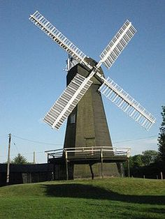 Davison's mill is a smock mill in Stelling Minnis, Kent built in 1866. It was the last windmill working commercially in Kent when it closed in 1970. It was built by the Canterbury millwright Thomas Holman, replacing an earlier open trestle post mill with common sails. Milling by wind ceased in 1925, but the mill continued to work by a Ruston & Hornsby oil engine which had been added in 1923. In April 1935, the mill was restored to full working order.