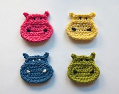 Instant Download PDF Crochet Pattern by oneandtwocompany on Etsy