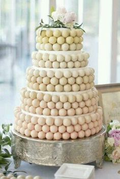 ♥Very Unique Wedding cake design❤
