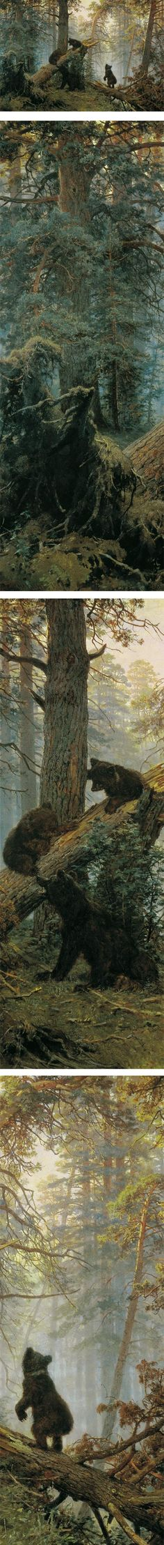 Eye Candy for Today: Shishkin's pine forest