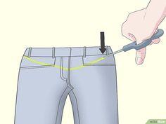5336aac5d 3 formas de transformar pantalones regulares en pantalones de maternidad  Patrones Para Vestidos De Novia