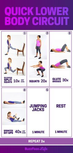 Get sweaty and feel all-over burn in less than 30 minutes, no gym required.