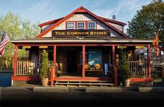 If you don't live here...Come visit us:  Corner Store in Chatham, Massachusetts on Cape Cod.