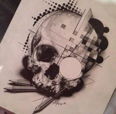 skull tattoo. https://scontent-a-cdg.xx.fbcdn.net/hphotos-prn2/q71/1459721_722521174443334_887284991_n.jpg