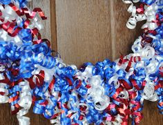 4th of July Wreath - Crazy Little Projects