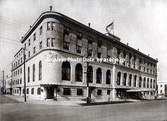 昭和5年頃(1930)横浜・ニュー・グランド・ホテル。益田啓一郎氏のブログより。