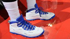 cdadc5048276 Kicks On Court  Andre Drummond Honors Sandy Hook Victims with Shoes http