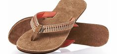 Reef Womens Reef Gypsylove Flip Flops - Tobacco/ Womens leather flip flops