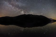 Milky Way over Lake McDonald, Glacier National Park (Pinned by haw-creek.com)